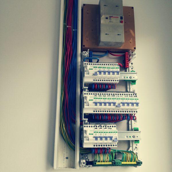 Remplacement tableau électrique sur Montpellier