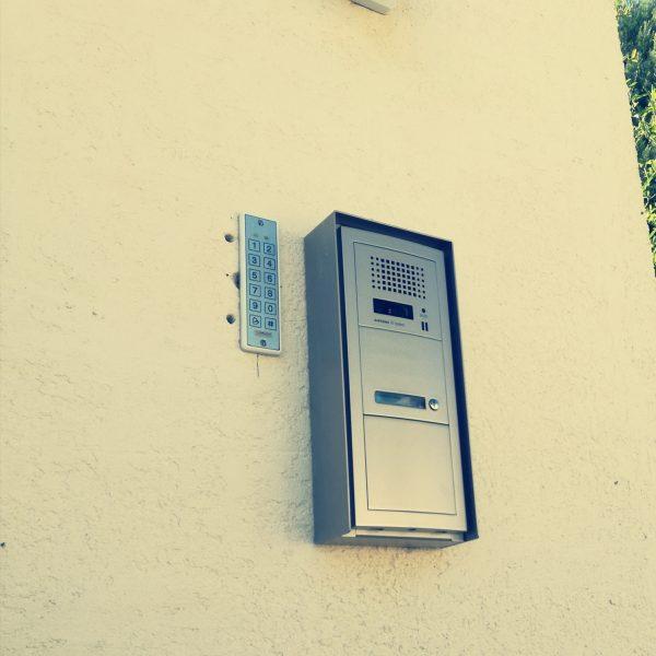 installateur d'interphone collectif sur Montpellier