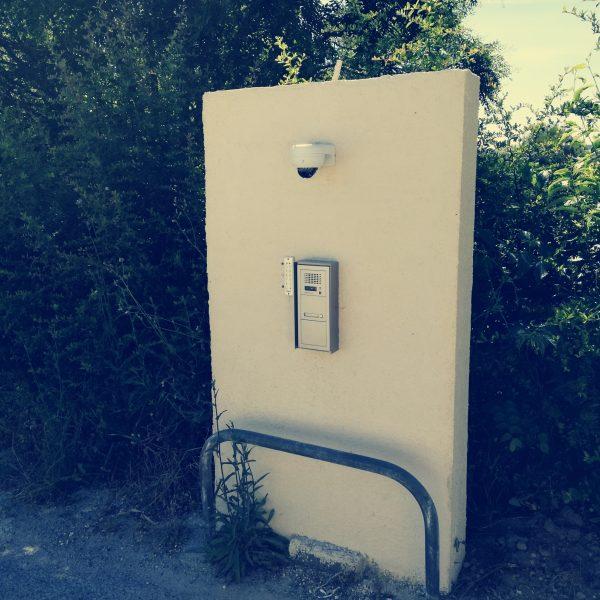 interphone d'immeuble sur Montpellier