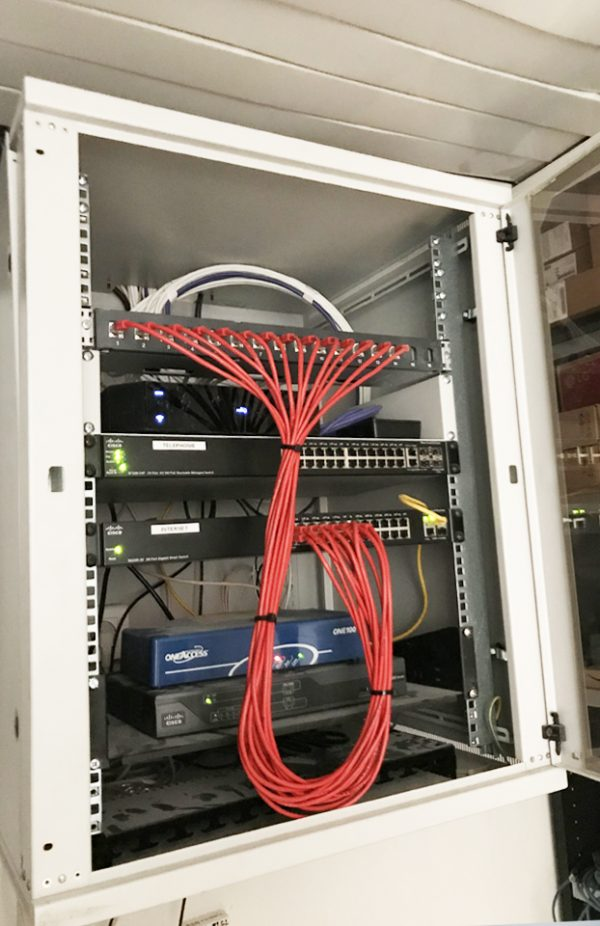 câblage réseau informatique à Juvignac