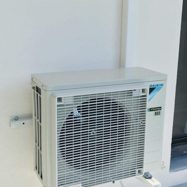 Mise En Service Climatisation Reversible Au Cailar