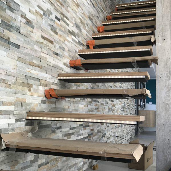 Installation Eclairages Bandeau Led Escalier A Montpellier