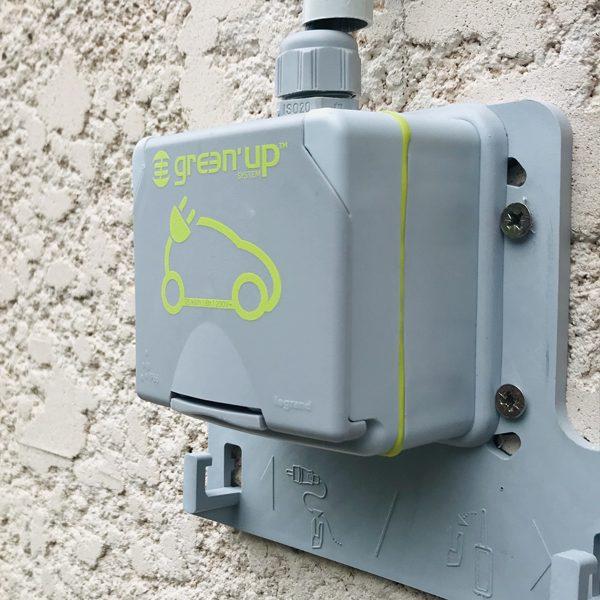 Installation Prise De Courant Voiture Electrique A Lunel